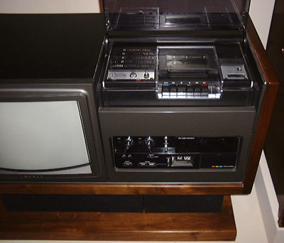Sonys First US Betamax Product The TVVCR Combo LV