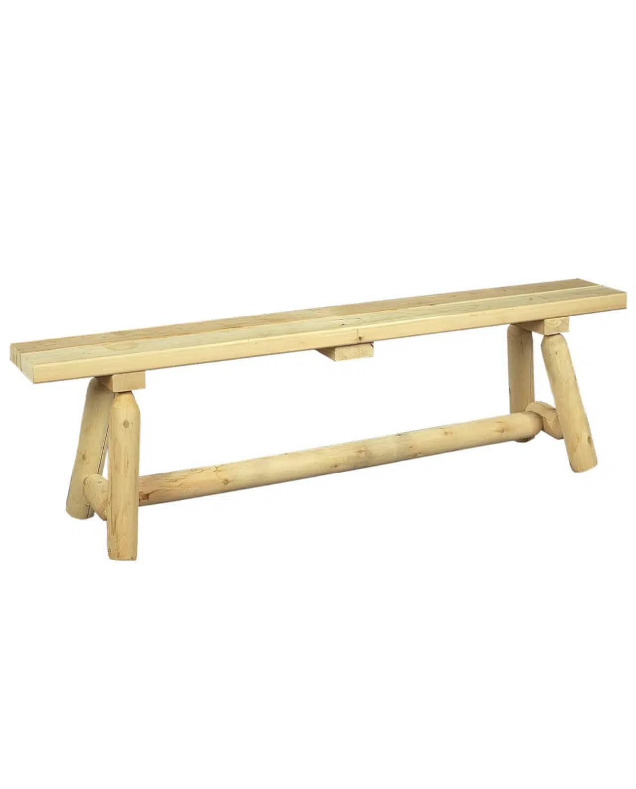 banc en bois de cedre blanc ref b20b
