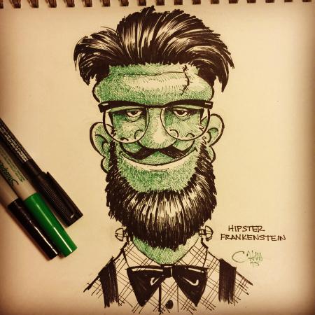 Hipster Frankenstein