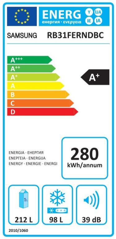 Hladnjak Samsung A+ RB31FERNDBC/EF