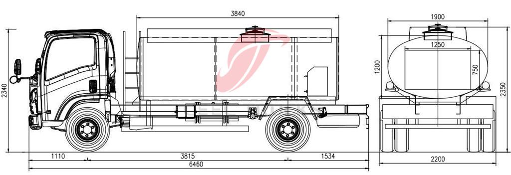 Dubai ISUZU Fuel Trucks Manufacturer Supply