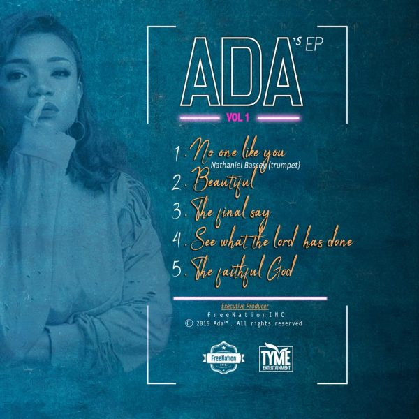 FREE ALBUM DOWNLOAD: Ada - Ada's EP Vol 1 | CeeNaija