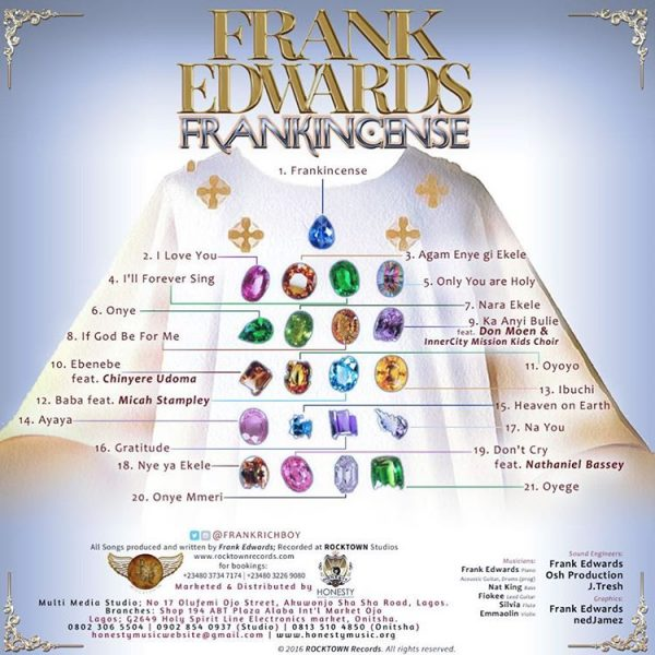 DOWNLOAD SONG: Frank Edwards - Nara Ekele (Blessed Be Your