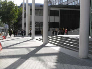 Entrance to Imperial College