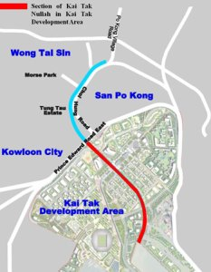 Layout of Kai Tak Development