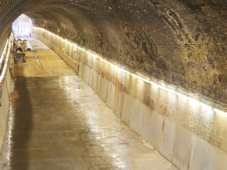 Crossrail: Connaught Tunnel and Surface Railway