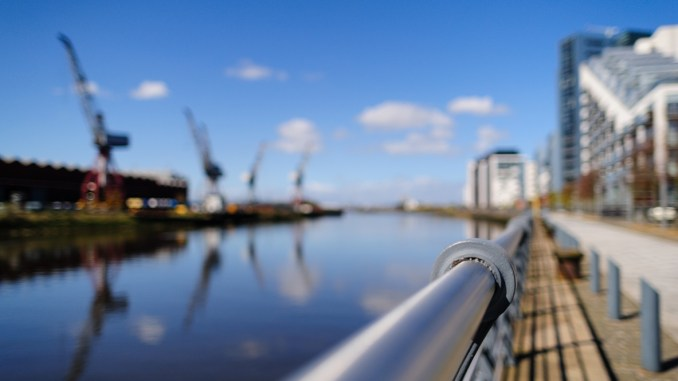 Glasgow harbour by Robert Brown on Flickr