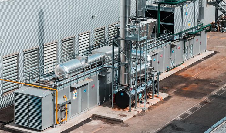 Impianto di cogenerazione industriale