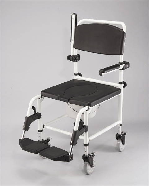 T210 Attendant Shower Commode Chair  Cefndy Healthcare
