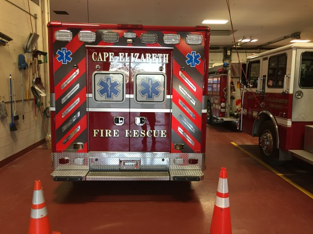 CEFRD Accepts Delivery of New Ambulance - Cape Elizabeth Fire