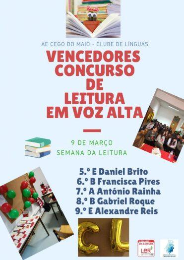 Vencedores do Concurso de Leitura (2)