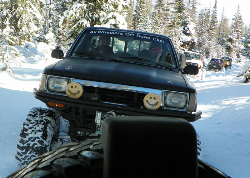 Photos: EWOR Thanksgiving 4x4 Run at the Ahtanum State Forest 17