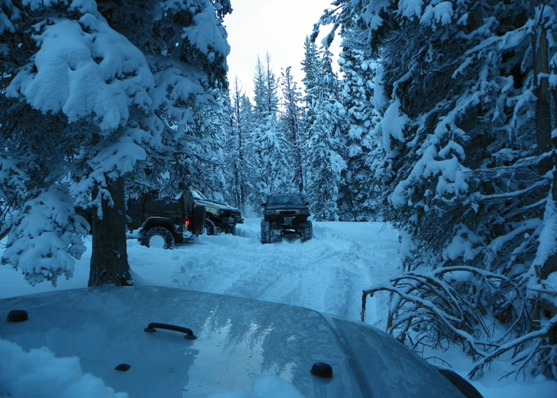 Photos: EWOR Thanksgiving 4x4 Run at the Ahtanum State Forest 53