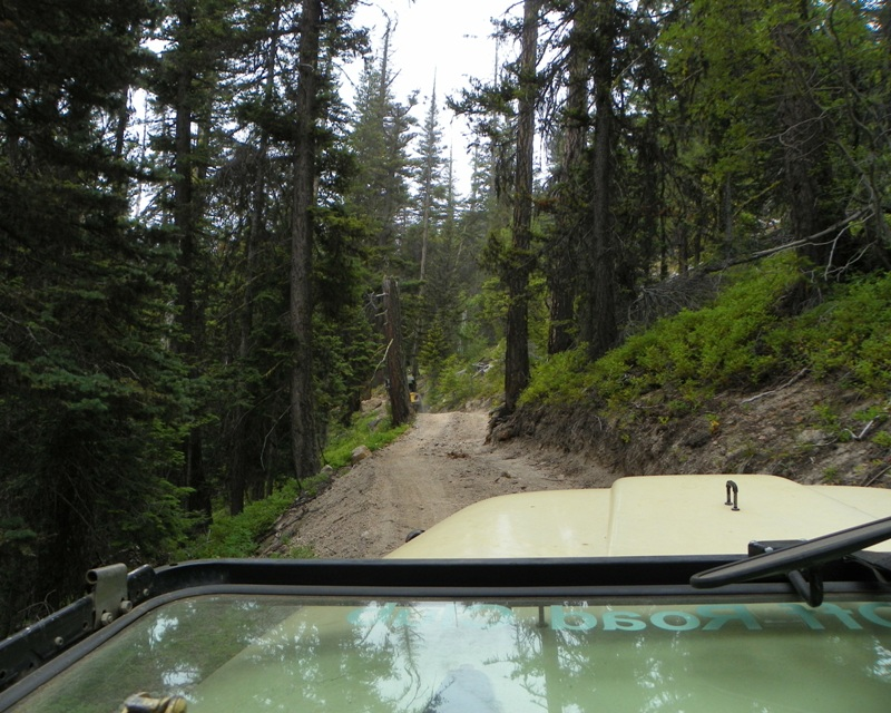 Photos: Yellow Jeep Run - Little Rattlesnake 5