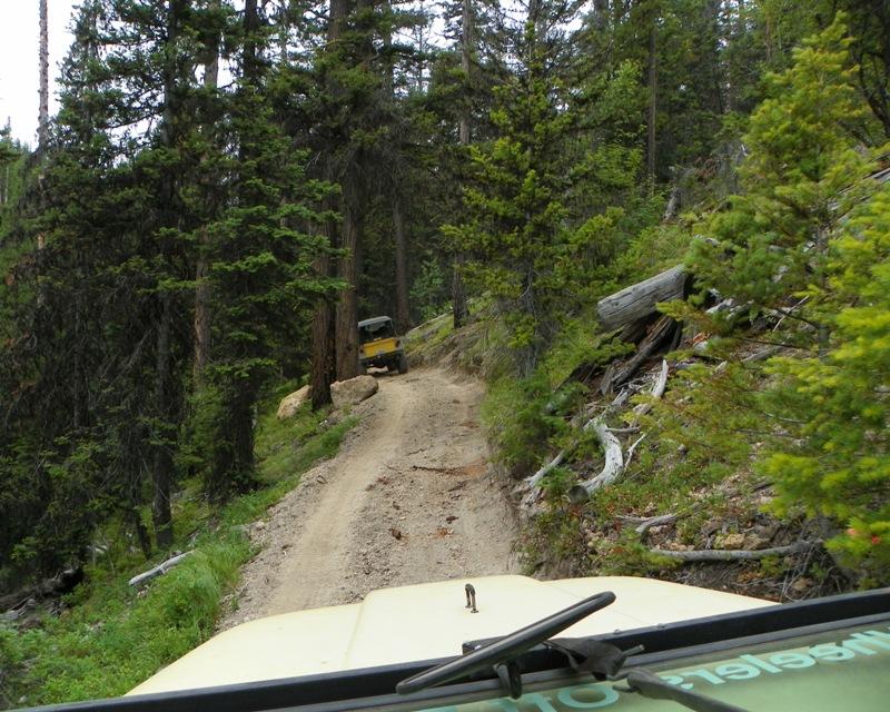 Photos: Yellow Jeep Run - Little Rattlesnake 6