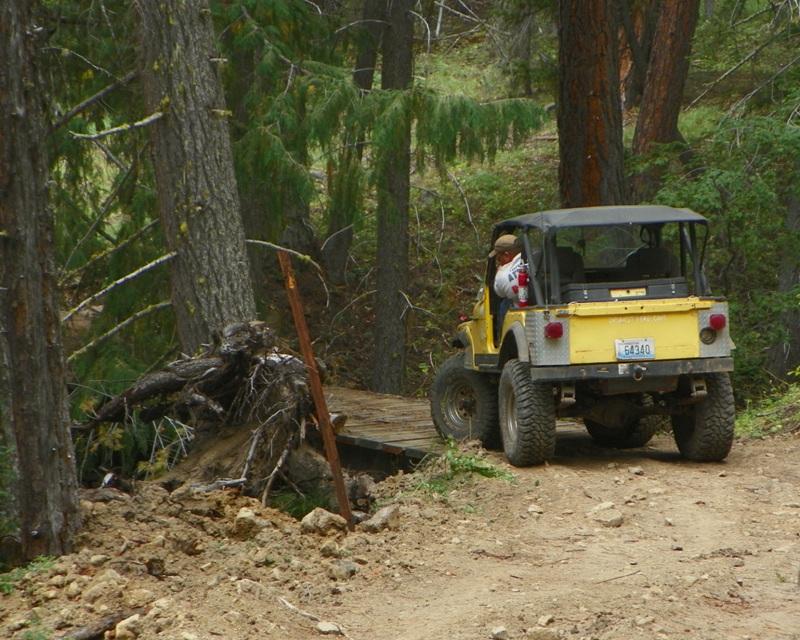 Photos: Yellow Jeep Run - Little Rattlesnake 13
