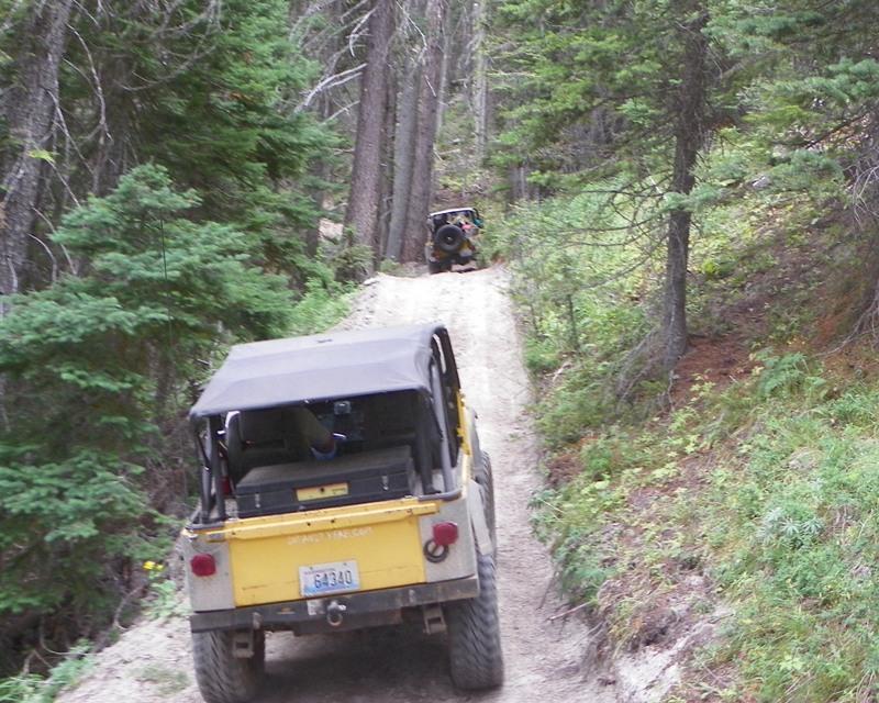 Photos: Yellow Jeep Run - Little Rattlesnake 17