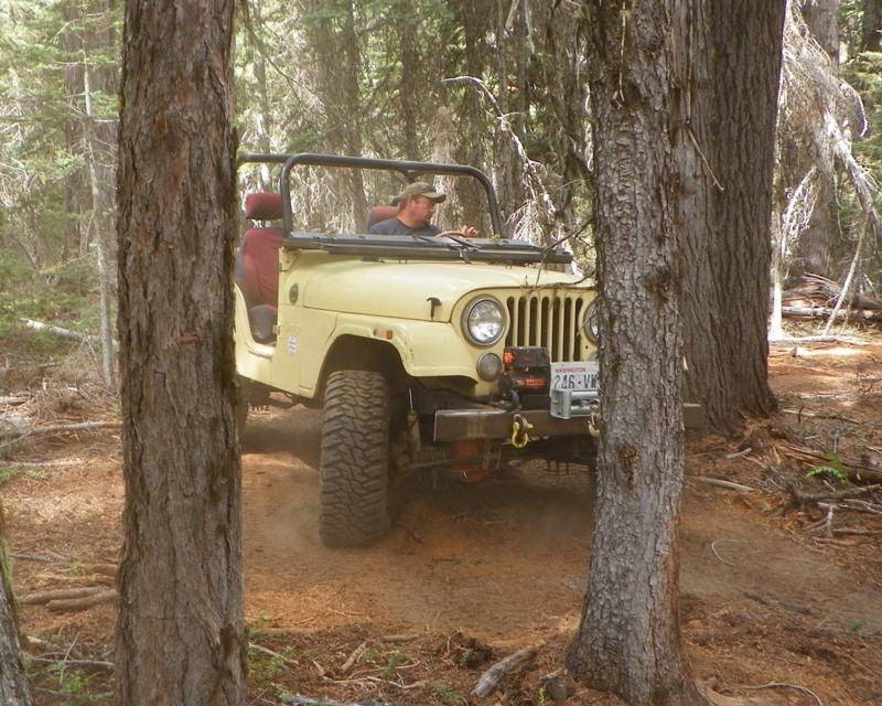 Photos: Yellow Jeep Run - Little Rattlesnake 38
