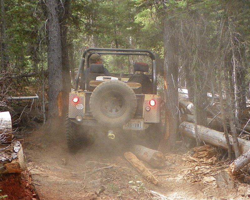 Photos: Yellow Jeep Run - Little Rattlesnake 45
