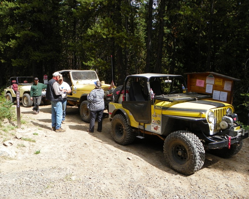Photos: Yellow Jeep Run - Little Rattlesnake 64