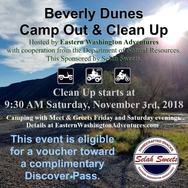 Beverly Dunes Clean Up