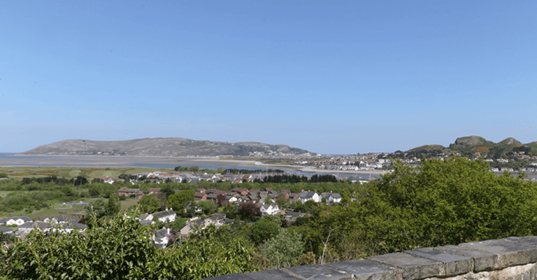 View over Conwy Estuary