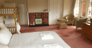 room for a family of four with ensuite