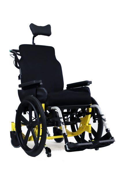 Encore Rehab Wheelchair-Yellow