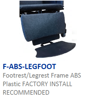 ABS= Footrest