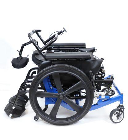 Encore Rehab Wheelchair Folded Blue