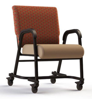 """22"""" Chair with casters"""