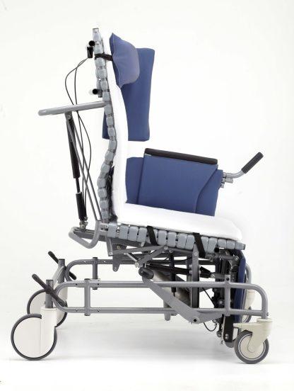 Vanguard Broda Wheelchair in posterior tilt