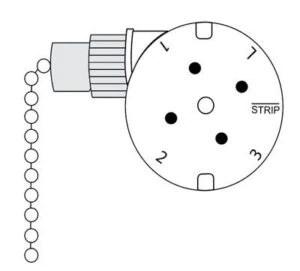 Zing Ear ZE-208s E89885 3 Speed 4 Wire Ceiling Fan Rotary