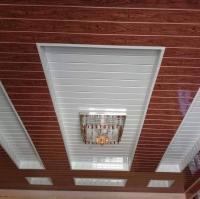 Plain White White Pvc Wall Panels , Moisture Resistant ...