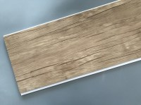 Wood Color Plastic Laminate Wall Covering , Pvc Laminated ...