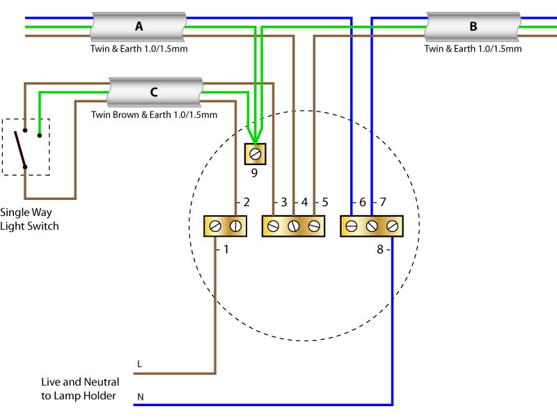 Light Wiring Diagrams Wiring Wiring Diagram And Schematics