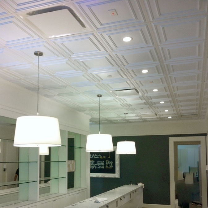 Ceilings 101: Drop Ceiling vs. Drywall Ceiling