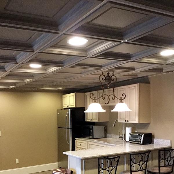 Ceilings 101 Drop Ceiling vs Drywall Ceiling  Elegant Ceilings  Walls