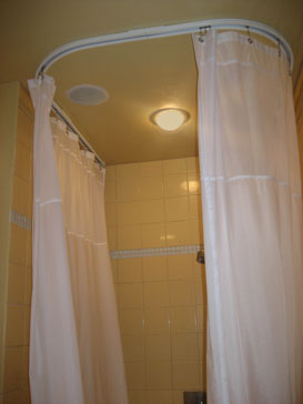 Shower Rods U Shaped Ceiling Shower Curtain Rod
