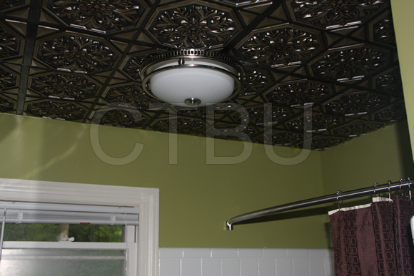 Plastic Glue Up Drop in Decorative Ceiling Tiles  Ceiling Tiles By Us