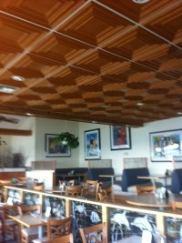 PVC Tiles Grid Suspended - Ceiling Tiles By Us
