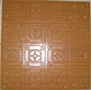 Ceiling Tiles By Us  Plastic Ceiling Tile 107 Rose Wood