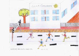 Dibujo de Lucía del Mar Montes Román (4º A)