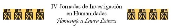 IV Jornadas de Investigación en Humanidades