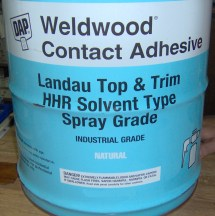 5 Gallon Weldwood Contact Cement - Year of Clean Water
