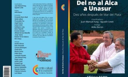 Entrevista Alfredo Serrano Mancilla para libro Del No al ALCA a UNASUR
