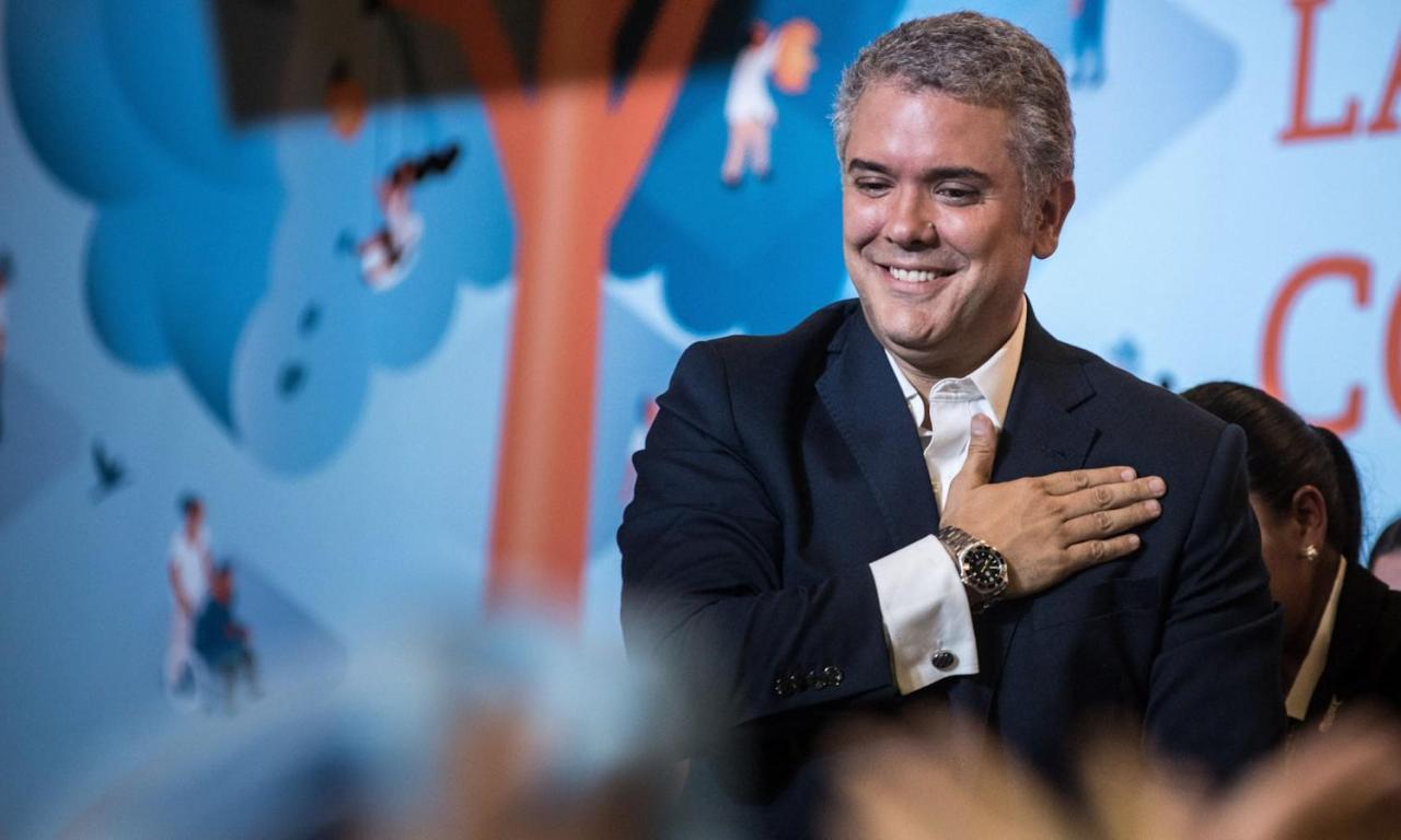 Iván Duque (Colombia)