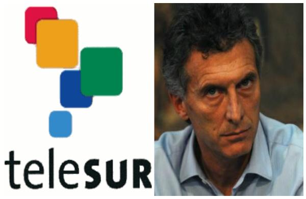Macri rechaza a Telesur en Argentina: Blindaje mediático a la medida de las derechas (Por Sabrina Flax, María Florencia Pagliarone, Mariela Pinza, Silvina Romano y Camila Vollenweider)