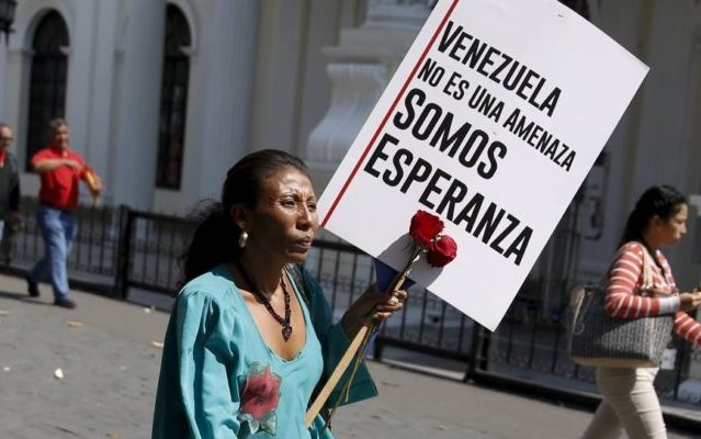 Venezuela como estrategia