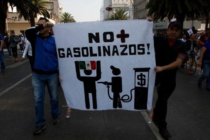 El año previo a las elecciones en México: Gasolinazo y neoliberalismo.